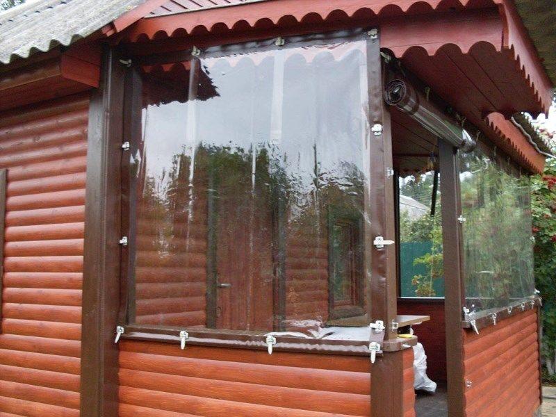 Рулонные шторы из пленки своими руками 88